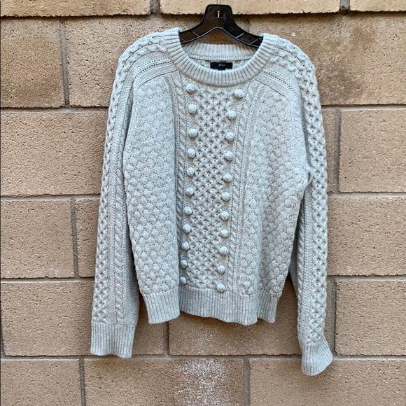 J.Crew Pom Pom sweater